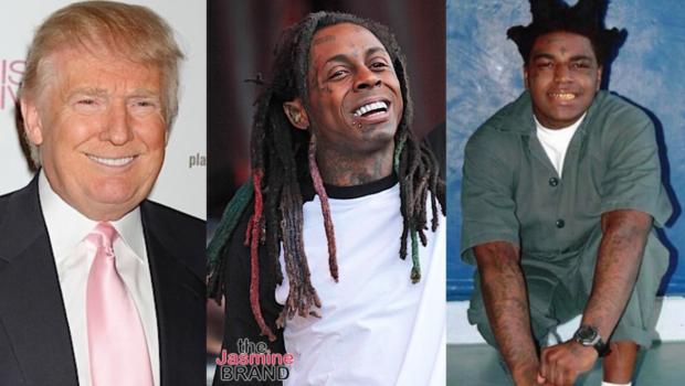 President Trump Reportedly Plans To Pardon Lil Wayne & Kodak Black Before He Leaves The White House