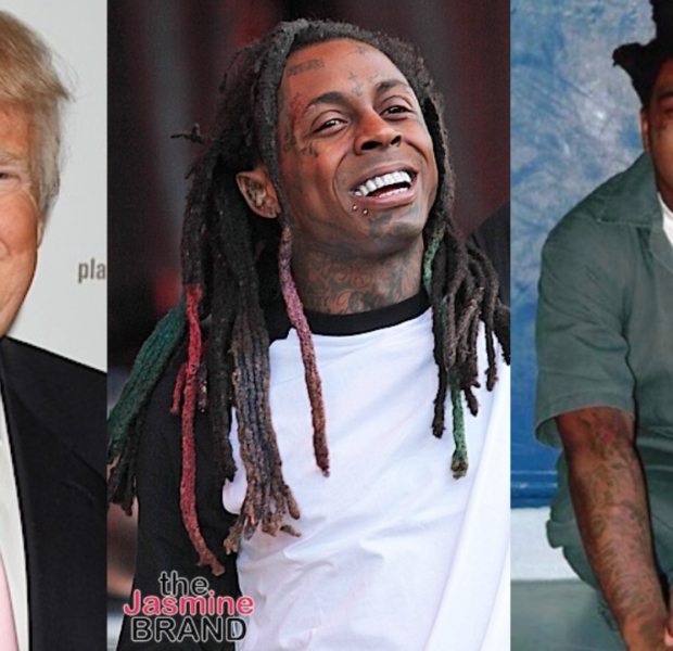 President Trump Reportedly Plans To Pardon Lil Wayne & Kodak Black Before He Leaves The White House
