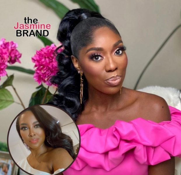 EXCLUSIVE: Real Housewives of Potomac's Wendy Osefo Says Growing Up She Was Inspired By Kenya Moore Being A Brown-Skin Girl: I Have So Much Love & Admiration For Her