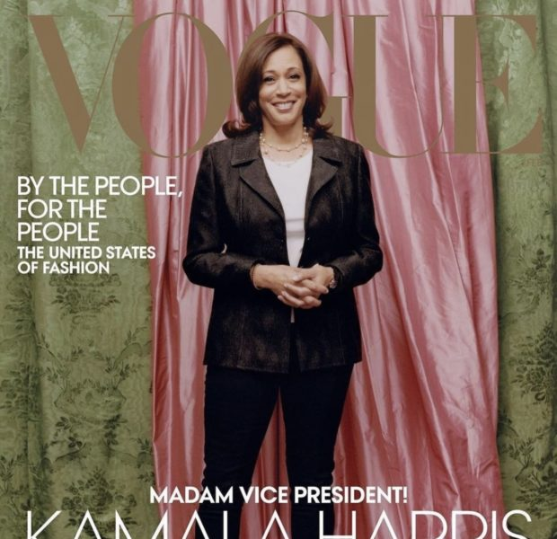 'Vogue' Insiders Deny Blindsiding Kamala Harris With Controversial Cover + Say Her Skin Wasn't Lightened