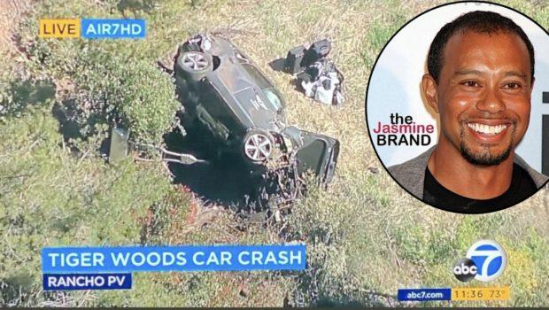 Tiger Woods' Team Releases Statement After Car Crash