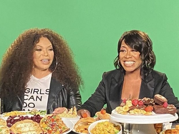 "Tisha Campbell & Tichina Arnold Land New Talk Show, ""Tisha & Tichina Have Issues"""