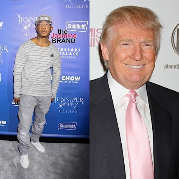 Ja Rule Says Donald Trump Is Allowed On His New App Iconn: It's Freedom For Everybody