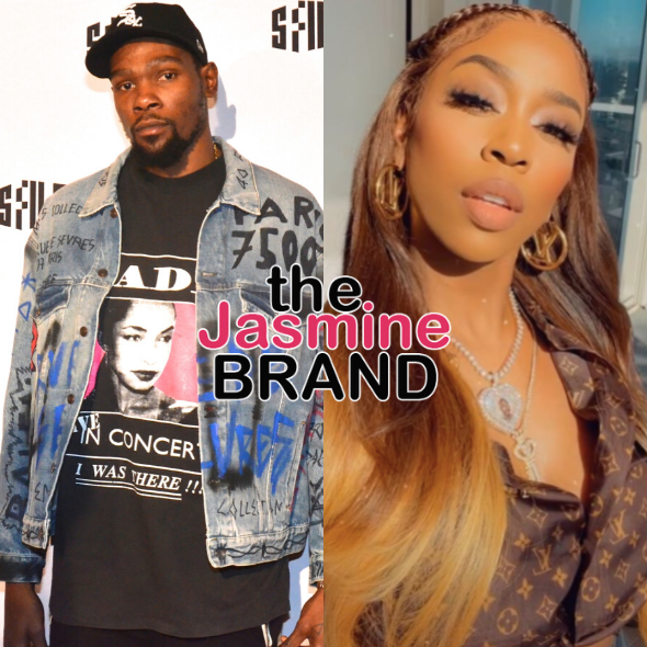 Kevin Durant Doesn't Want Kash Doll Using 'KD' Initials, She Tells Him 'I'm The Real KD, Act Accordingly'