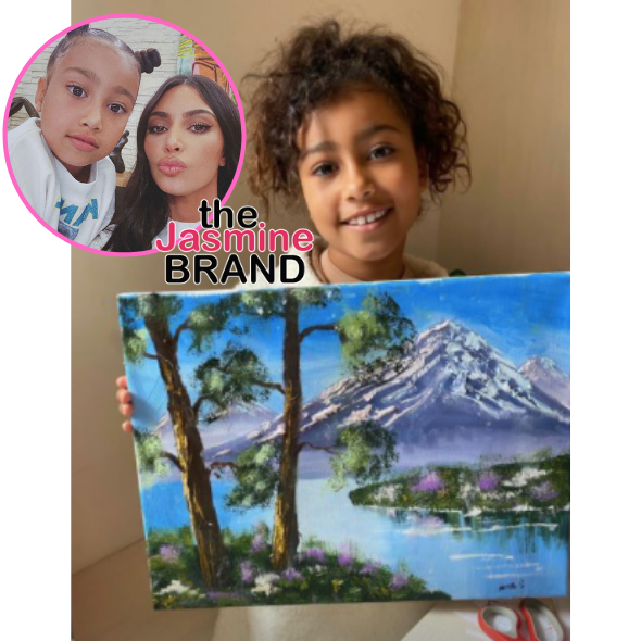 Kim Kardashian Lashes Out At Doubters Who Say North West, 7, Didn't Really Paint Viral Picture: Don't Play With Me When It Comes To My Kids!