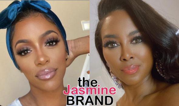 Porsha Williams Says Kenya Moore's Butt Is Fake: I Don't Know What's In There