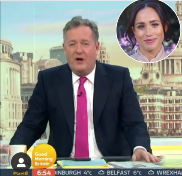 "Piers Morgan Speaks Out After Quitting ""Good Morning Britain"" & Meghan Markle Criticism"