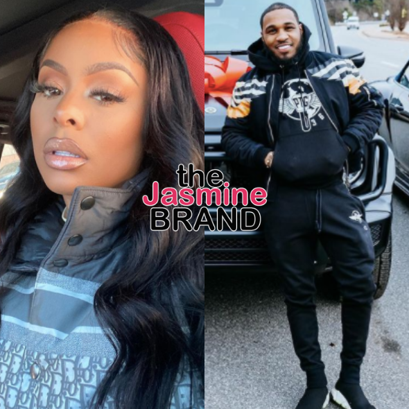 Father Of Alexis Skyy's Child, Brandon Medford, Says He Was 'Shocked' But 'Excited' To Find Out Baby Was His, Alexis Accuses Him Of Being 'Embarrassed' Of Their Child