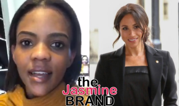 Candace Owens Suggests Meghan Markle & Her Son Couldn't Experience Racism Because Of Their Skin Tone