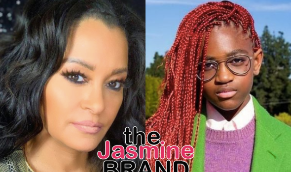 Claudia Jordan Shares Thoughts On Zaya Wade: I Hope There Are No Regrets Later On