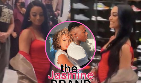 DaniLeigh Spotted With What Appears To Be A Baby Bump After Breakup With DaBaby