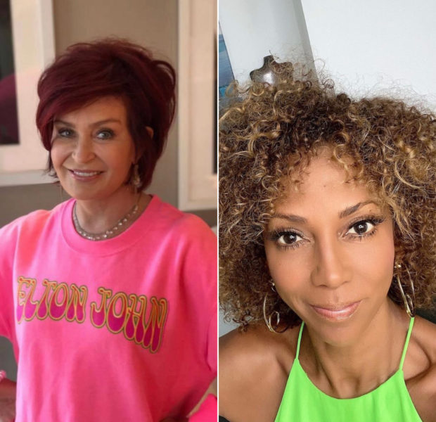 "Sharon Osbourne Denies Calling Holly Robinson Peete ""Ghetto"" + Says She Was 'Blindsided' By CBS"