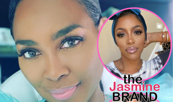 EXCLUSIVE: Kenya Moore Denies Breaking Girl Code By Discussing Porsha Williams Allegedly Hooking Up With Male Stripper, Says She Doesn't Feel Guilty About Tanya Sam Allegedly Leaving The Show: She Exposed Herself