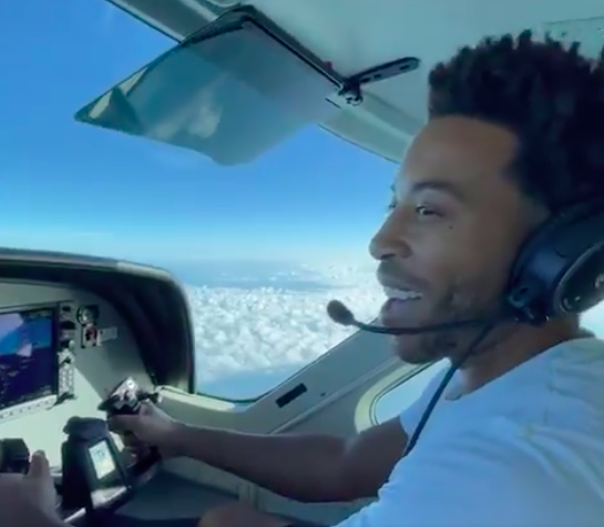Ludacris Appears To Have Gotten His Pilot's License, Shows Off His Flying Skills [WATCH]