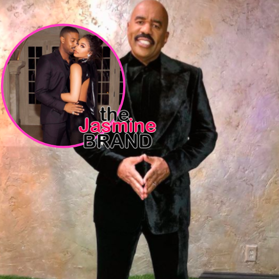 Steve Harvey 'Can't Find Nothing Wrong' W/ Lori Harvey's Boyfriend Michael B. Jordan, Says He's 'Gotten Rid Of All Of' Her Exes