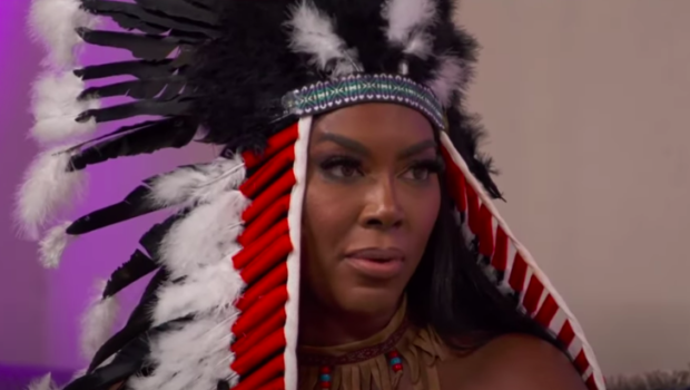 Kenya Moore Apologizes For Wearing Native American Halloween Costume: I Regret It.