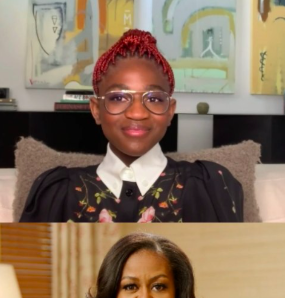 Michelle Obama Tells Zaya Wade 'I Am Just So Proud Of You' During Virtual Interview