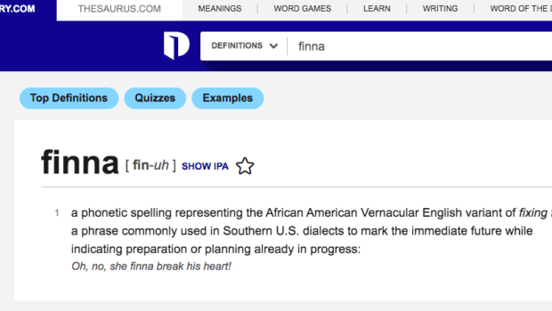 'Finna' & 'Chile' & 'Structural Racism' Among Words Added To The U.S. Dictionary