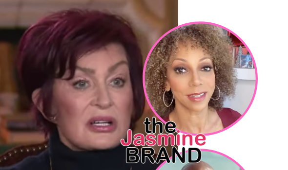 Holly Robinson Peete Calls Out Sharon Osbourne For Not Taking Responsibility + Kevin Frazier Under Fire For Suggesting Black Women Should Educate Her