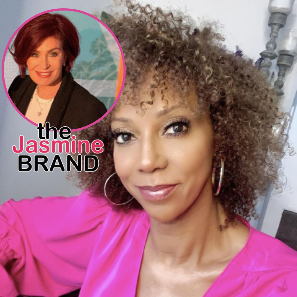 Holly Robinson Peete Says Sharon Osbourne Complained She Was 'Too Ghetto' On 'The Talk'