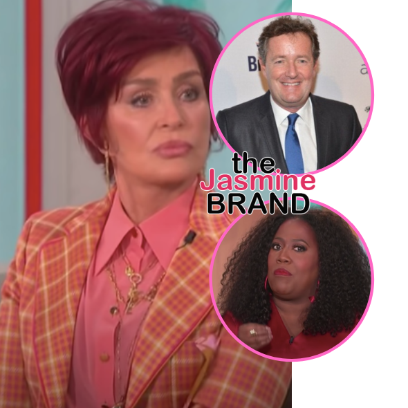 Update: 'The Talk' Co-Host Sharon Osbourne Apologizes After Lashing Out At Sheryl Underwood & Defending Piers Morgan's Alleged Racist Comments