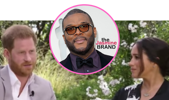Meghan Markle & Prince Harry Recall How Tyler Perry Helped Them After Royal Family Stripped Them Of Their Security