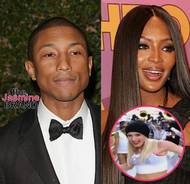 Pharrell Williams Reveals Naomi Campbell Was The Inspiration Behind The 2005 Song 'Hollaback Girl'