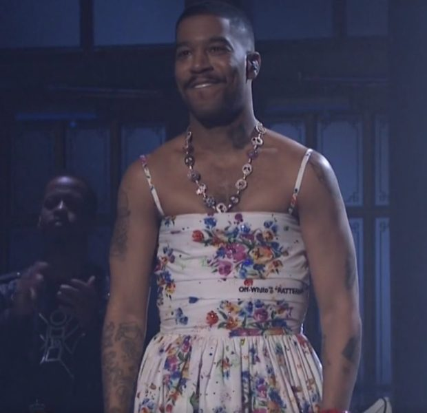 Kid Cudi Rocks A floral Dress On 'SNL' [Photos]