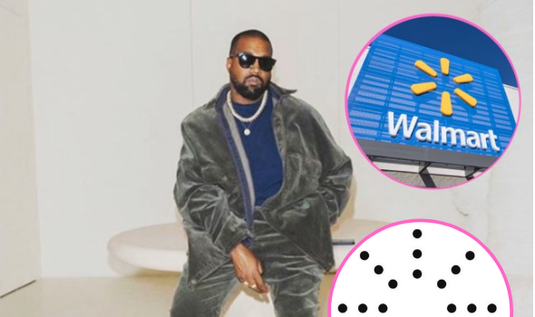 Kanye West's New Yeezy Logo Is Too Similar To Walmart's, Grocery Chain Alleges In Complaint Against Rapper