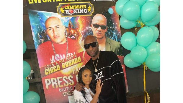 Karlie Redd & Lamar Odom Get Into Heated Exchange, She Tells Him 'Pay Me All The Money You Owe Me!'