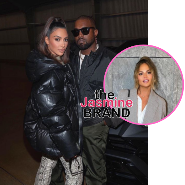 Chrissy Teigen Says 'It's A Shame' Kanye West & Kim Kardashian Didn't Work Out: She Gave Her All