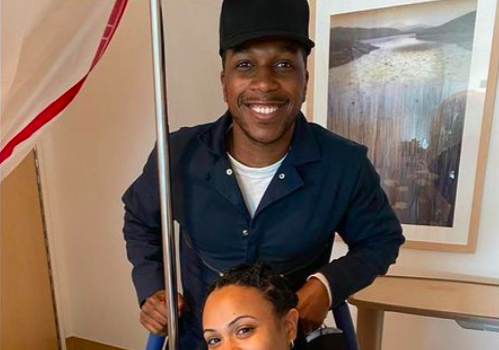 Leslie Odom, Jr. & Wife Nicolette Robinson Welcome Baby #2!