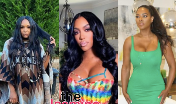 Marlo Hampton Storms off After An Argument With Porsha Williams & Kenya Moore