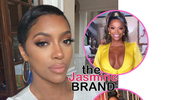 Porsha Williams Confirms She Had Bravo Pull Exchange W/ Kandi Burruss Over Black Lives Matter + Slams Kenya Moore For Claiming Porsha Wanted To Be The Only Face Of The Movement