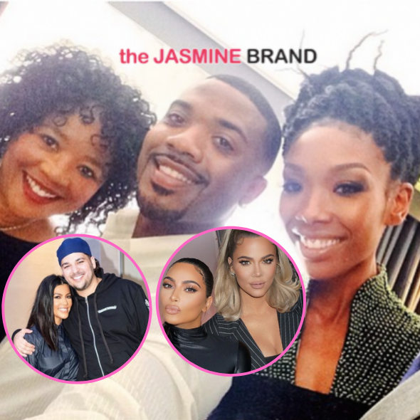 Brandy & Ray J's Mom Sonja Norwood Once Sued The Kardashian Siblings For Allegedly Spending $120K On Her Credit Card