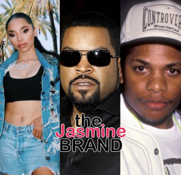Eazy-E's Daughter, E.B. Wright, Says Ice Cube Is 'Ducking & Dodging' To Avoid Being In Documentary About Her Late Father
