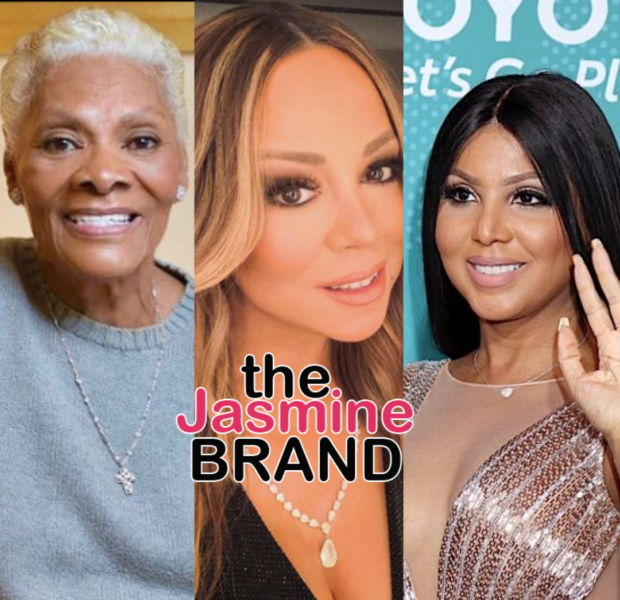 Dionne Warwick Shares She'll Have To Give It Some Thought When Asked If Mariah Carey & Toni Braxton Are Icons
