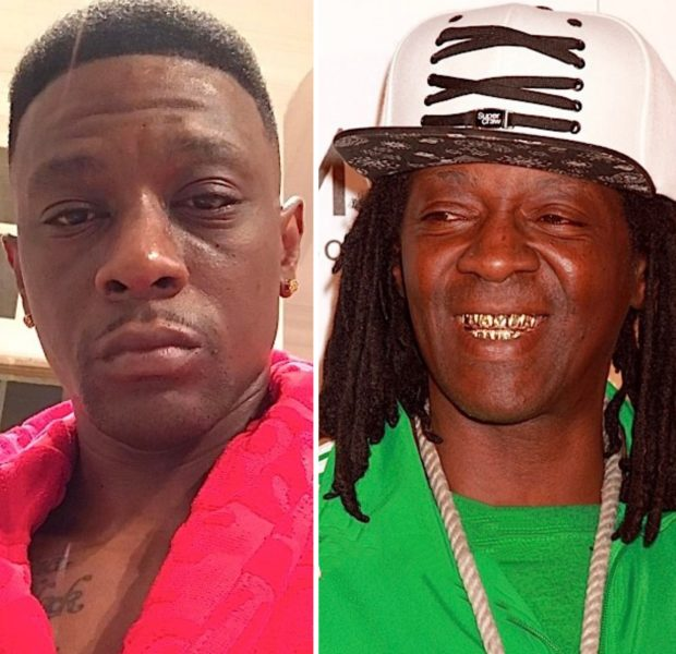 Boosie Badazz Is Upset After Being Mistaken For Flavor Flav: 'Flav You Can't F*ck With Me' [VIDEO]