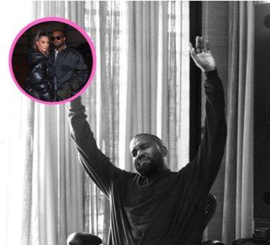 Kanye West Appears To Still Be Wearing His Wedding Ring Amid Kim Kardashian Divorce