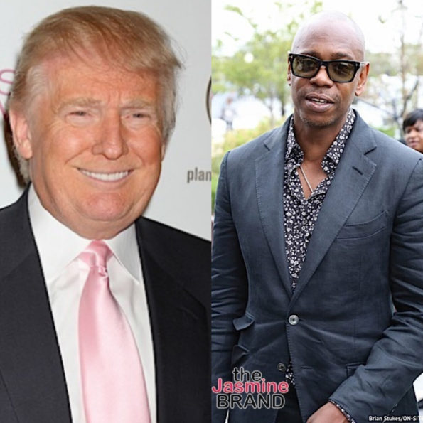 Dave Chappelle Says Celebs Left 'Dirty Notes' For Trump Administration In White House