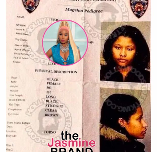 Nicki Minaj Posts & Deletes Mugshot From 2003 Arrest: It Took Years To Be Able To Look At Things Like This