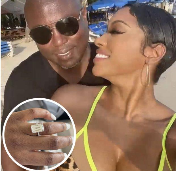 Porsha Williams Is Engaged To RHOA Costar Falynn Guobadia's Estranged Husband Simon Guobadia After Dating 1 Month- See The Ring!
