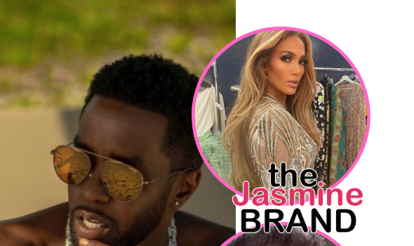 Diddy Shares Vintage Photo Of Him & Ex-Girlfriend Jennifer Lopez Amid Reports She's Back W/ Ben Affleck