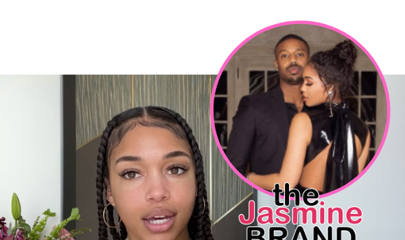 Lori Harvey Reveals Her New Skincare Line Is 'Coming Out Very Soon', Tests Products On Boyfriend Michael B. Jordan