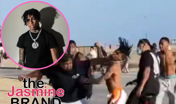 NLE Choppa Speaks Out On Viral Video Of Him & His Team Getting Into A Fight: Bruh Asked For A Picture, I Said No & Get Called A B****