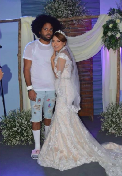 Singer Nfasis Goes Viral After Wearing T-Shirt and Shorts To His Wedding