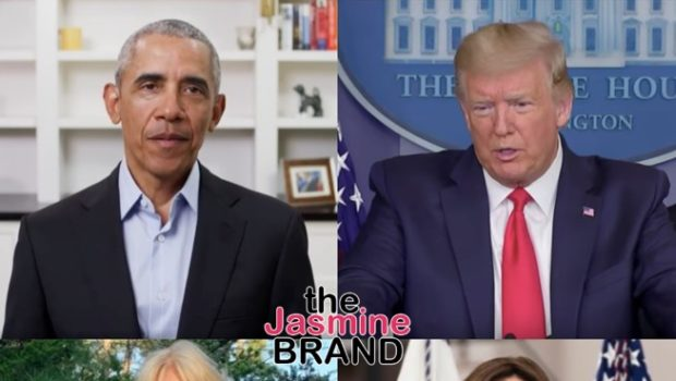Barack Obama Reportedly Called Donald Trump A 'Racist, Sexist Pig' + Jill Biden Said Kamala Harris Could 'Go F***' Herself, According To New Book