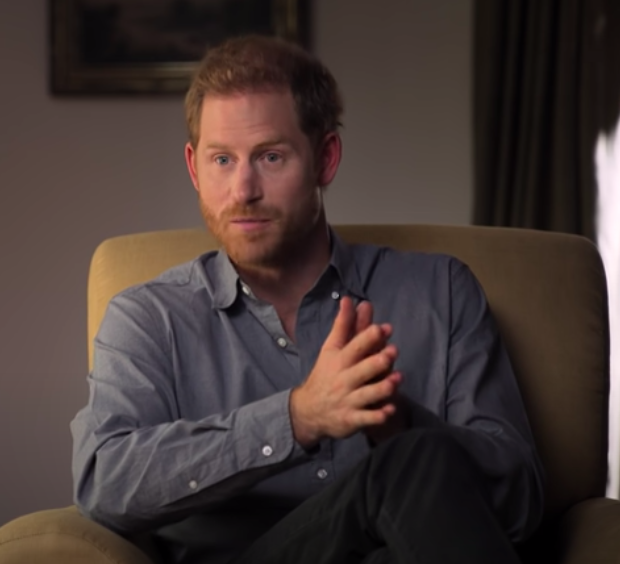 Prince Harry Says He Turned To Drugs & Alcohol To Cope W/ His Mother's Death