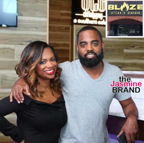 Kandi Burruss & Todd Tucker's Restaurant 'Blaze' Reopened After Voluntarily Closing Due To Failed Health Inspection