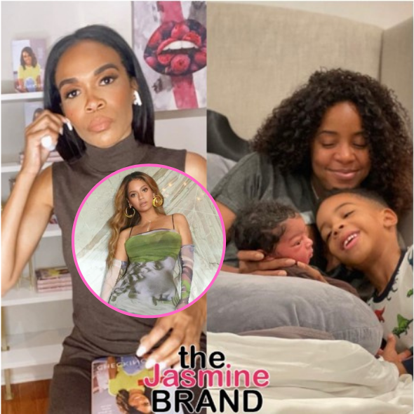 Michelle Williams Shares What It Was Like To Witness Kelly Rowland Give Birth On Zoom, Says Relationship W/ Kelly & Beyonce Is NEVER In Question
